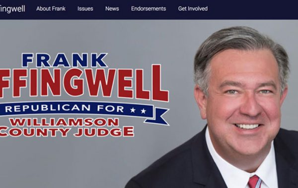 Frank Leffingwell for Williamson County Judge